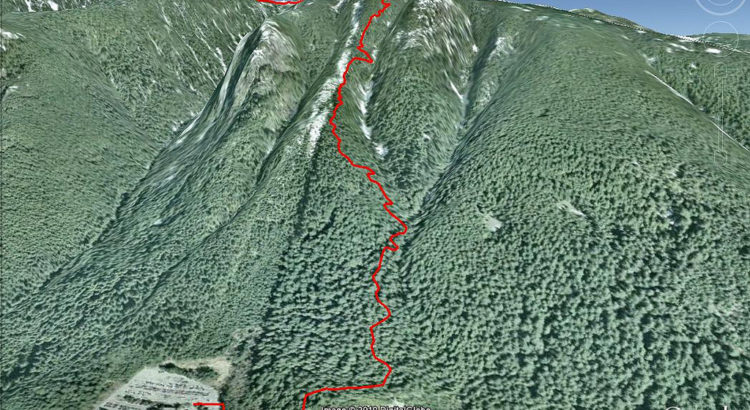 Grouse Grind Google Earth